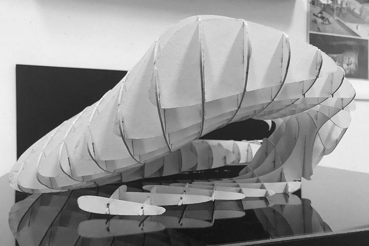 Waffle Pavilion 3Dmodel