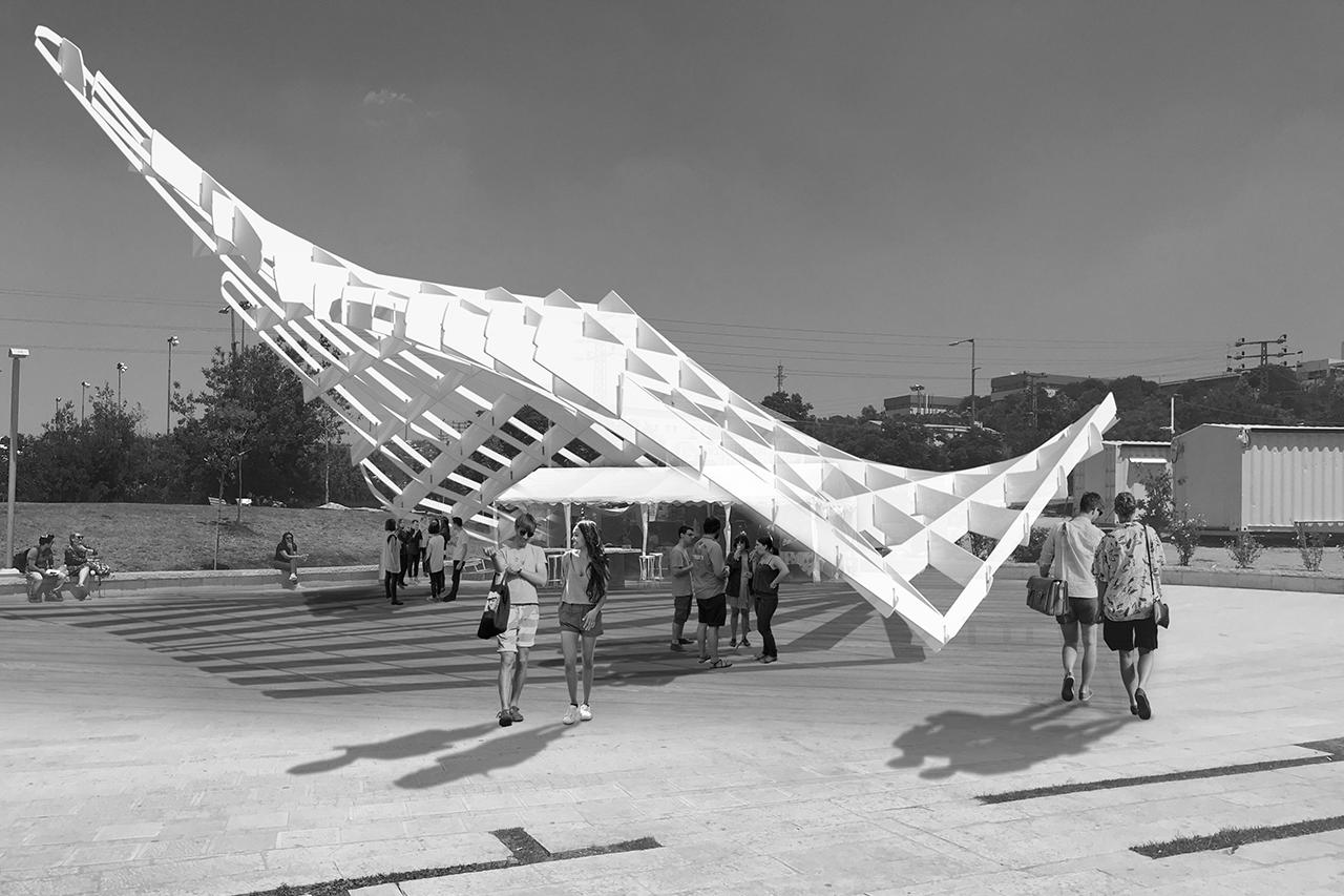 Digital Studio – Origami Pavilion