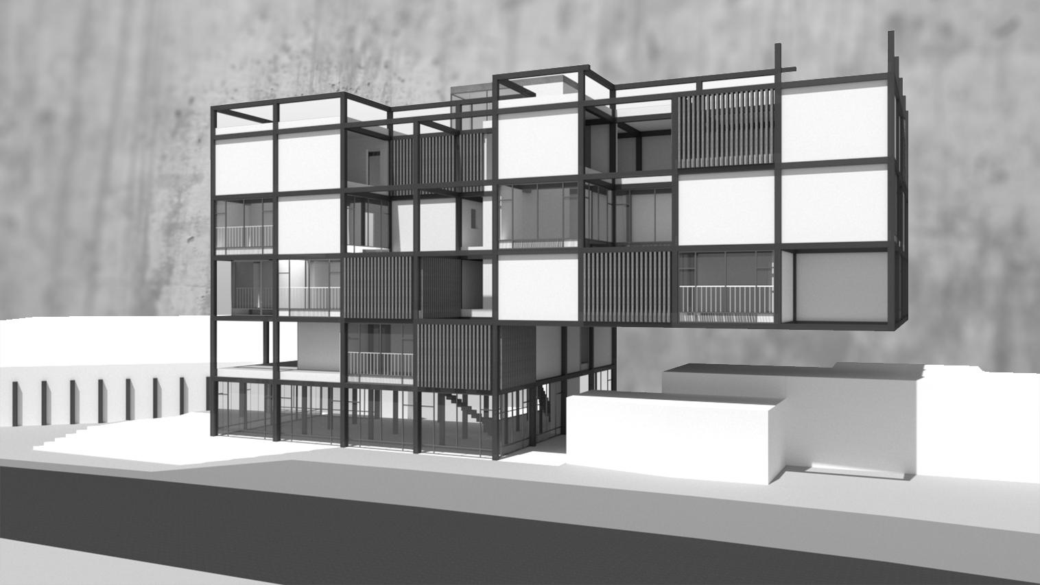 Residential Building – Sderot