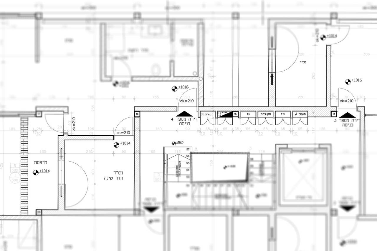 Residential Building – Technical Drawings